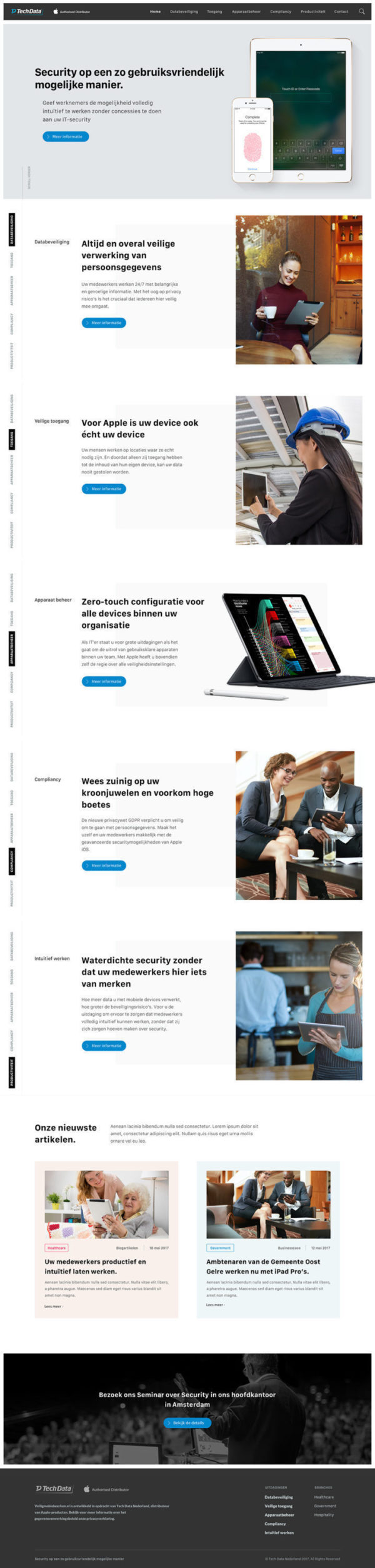 Homepage-apple-website