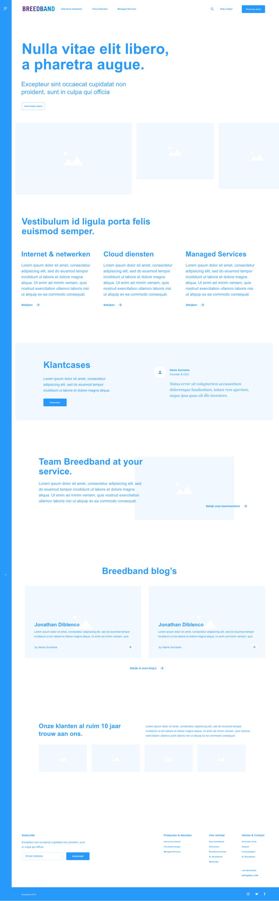 Homepage Wire Breedband