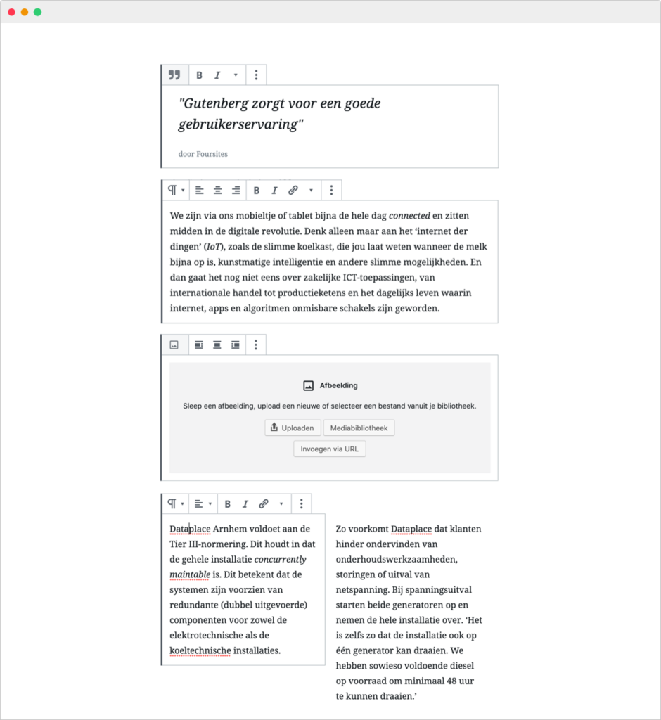 Gutenberg Editor Tool