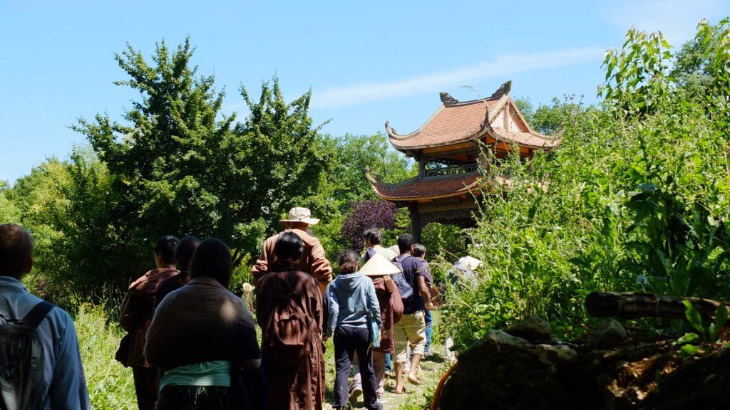 boeddhistische dorp Plum Village