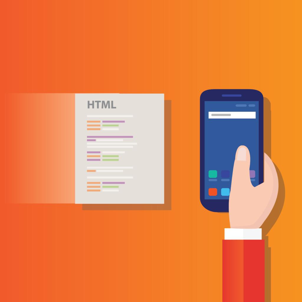 website performance met HTML